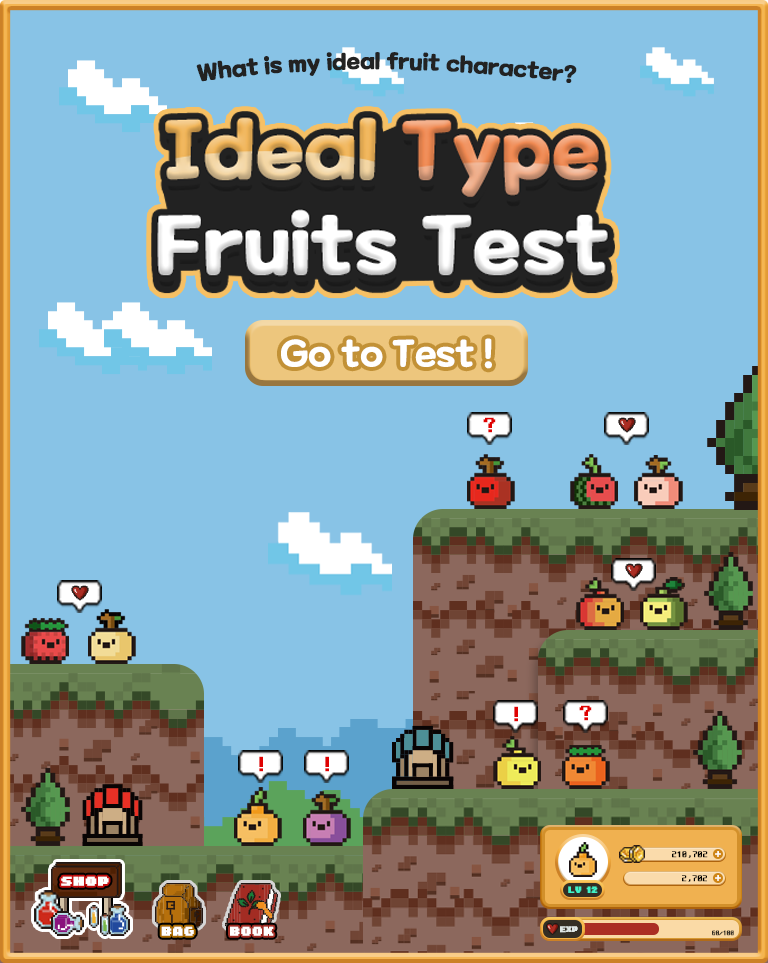 Ideal Type Fruits Test|What is my ideal fruit character?
