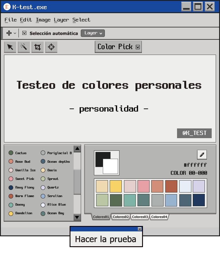 Testeo de colores personales|¿Cuál es el color que mejor me queda?