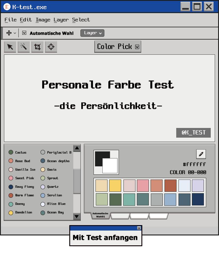 Persönliche Farbprüfung|Was ist meine persische Farbe?