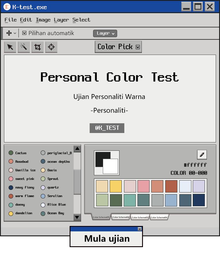 Ujian Personaliti Warna_Personaliti|Warna apa yang sesuai dengan saya?